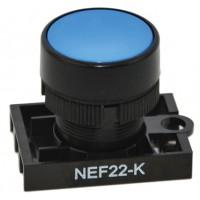 Кнопка управления NEF22-K (цвет синий) PROMET