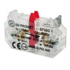 Кнопка управления, контактный элементEF22GY PROMET