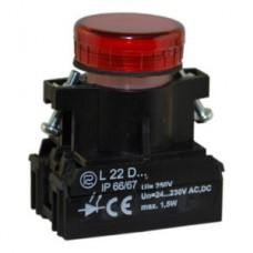 Сигнальная лампочка, световой индикатор L22 PROMET