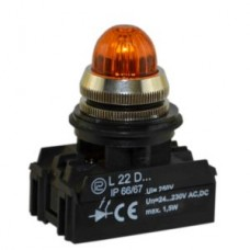 Сигнальная лампочка, световой индикатор L22G PROMET