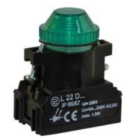 Сигнальная лампочка, световой индикатор L22W PROMET